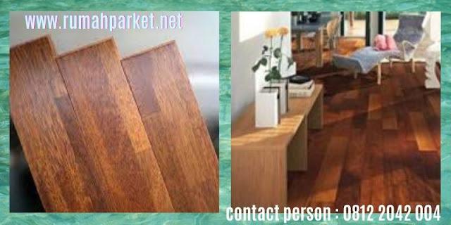 jenis lantai kayu solid indoor - parket merbau