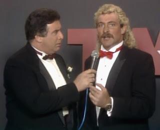 NWA Starrcade 1987 - Jack Gregory interviews Magnum TA