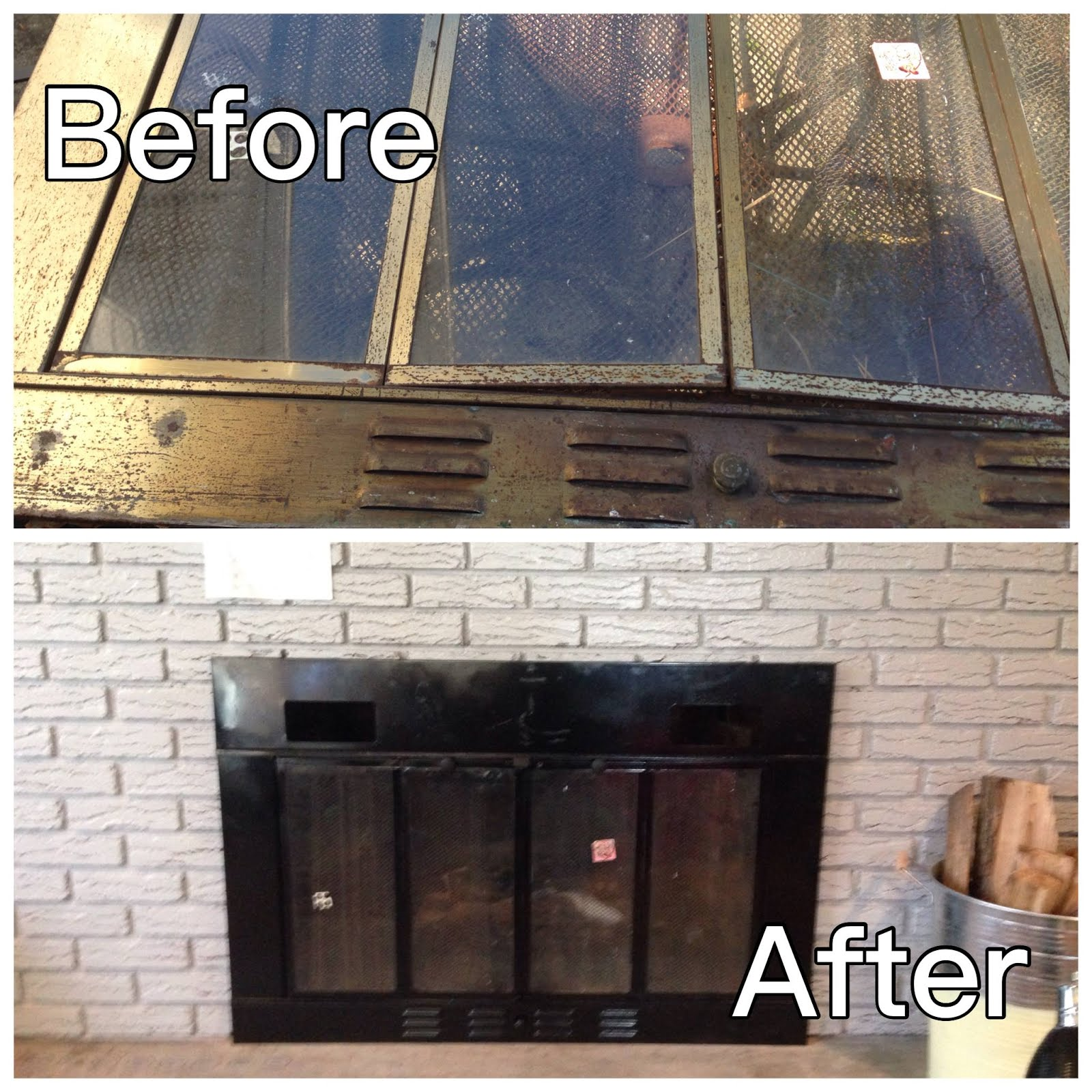 Hearth Covers: Fireplace Cover Make Over