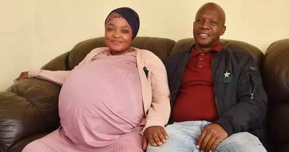 Woman In South Africa Gives Birth To 10 Babies