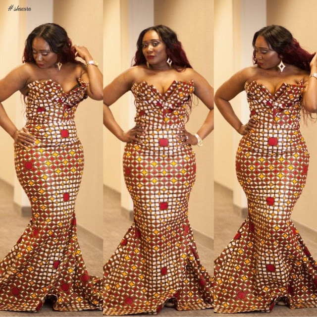 Beautiful Plus Size African Ankara Styles And Attire