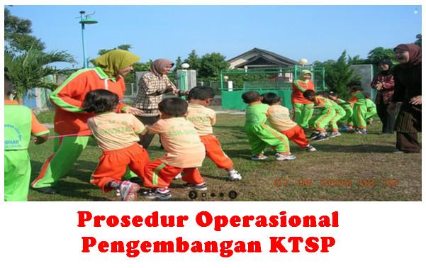 Prosedur Operasional Pengembangan KTSP