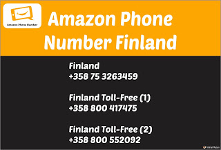 Amazon Phone Number Finland