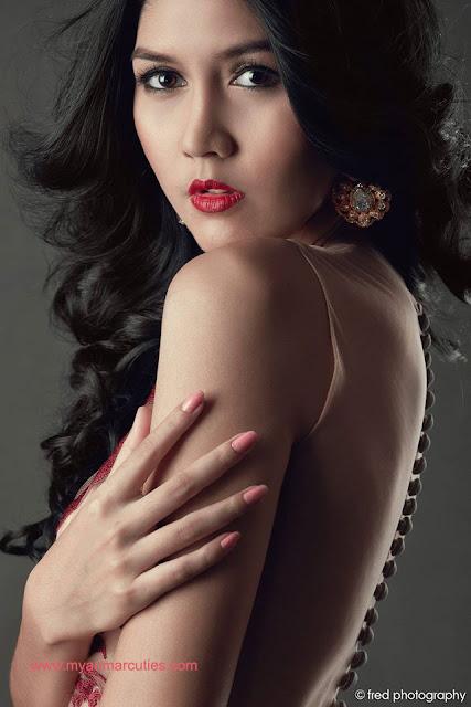 Luxury Brand Model Awards 2015 Winner- Zune Than Zin