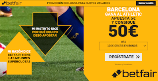 betfair supercuota Barcelona gana Athletic 16 agosto 2019