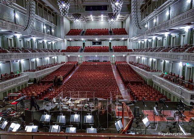 Nashville: Sala de concertos Schermerhorn Symphony Center