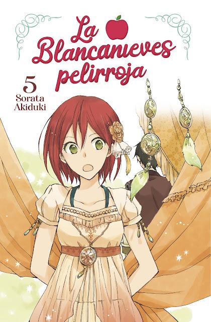 Review del manga La blancanieves pelirroja Vol.5 de Sorata Akiduki - Norma Editorial