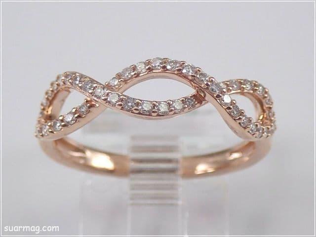 اشكال محابس ذهب 16   Gold Engagement Rings Forms 16