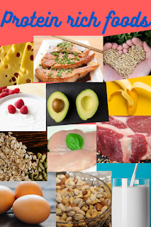Protein rich foods for weight gain