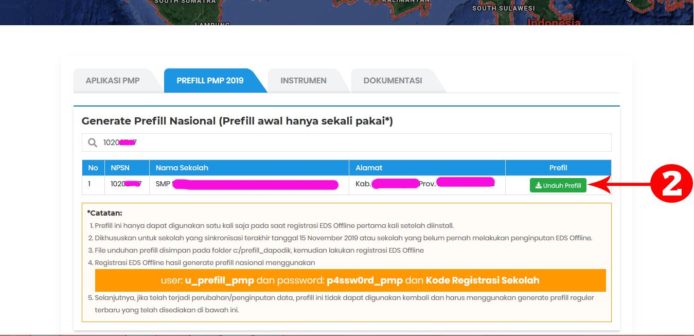 Cara Download Generate Prefill Nasional Aplikasi Eds Dikdasmen Versi 2019 11 Operatorsekolahdbn Com Informasi Pendidikan Indonesia