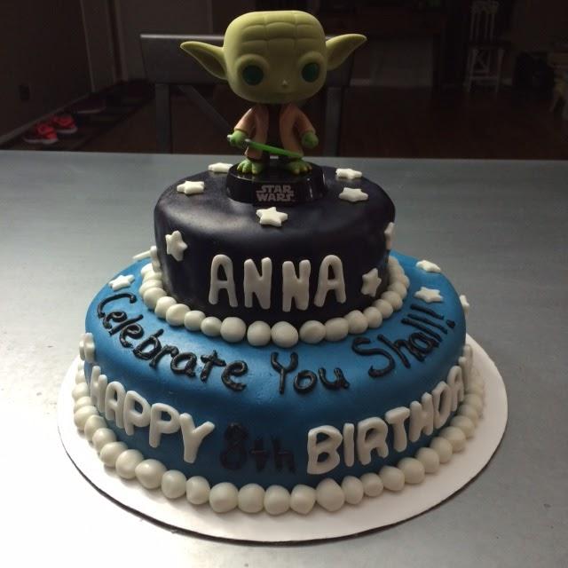 Erins Cakes Star Wars Yoda Birthday Cake