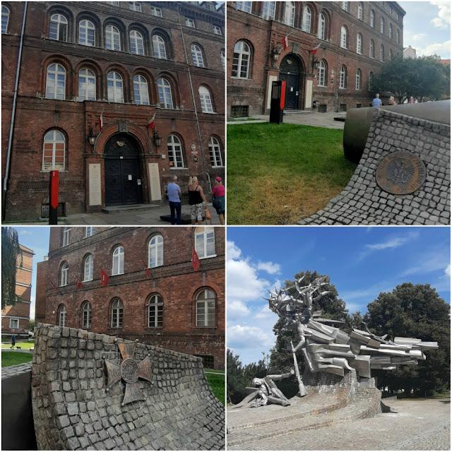 Prédio dos correios onde oficiais poloneses foram atacados por alemães (Gdansk, Polônia) - local onde teve início a Segunda Guerra Mundial