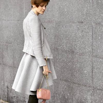 projektanci, butki, stylistka, osobista stylistka, butik poznan, poznań streetstyle, streetstyle, grey, powder pink, casual style,