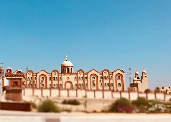 An Egyptian Coptic Orthodox Monastery