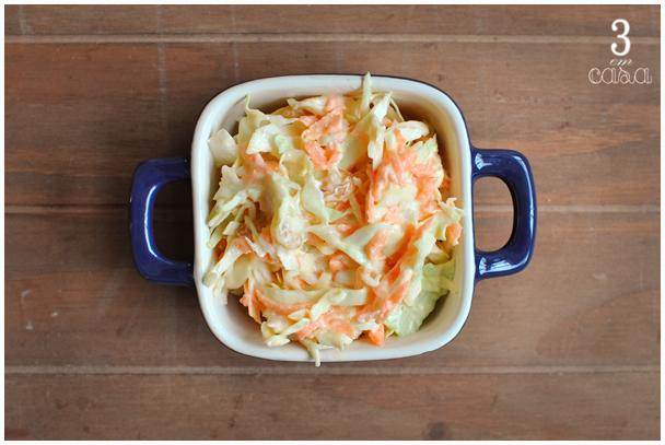 como preparar salada coleslaw