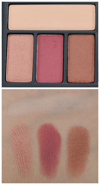 "Smashbox cover shot Lidschatten-Palette ""ablaze"" Swatches"