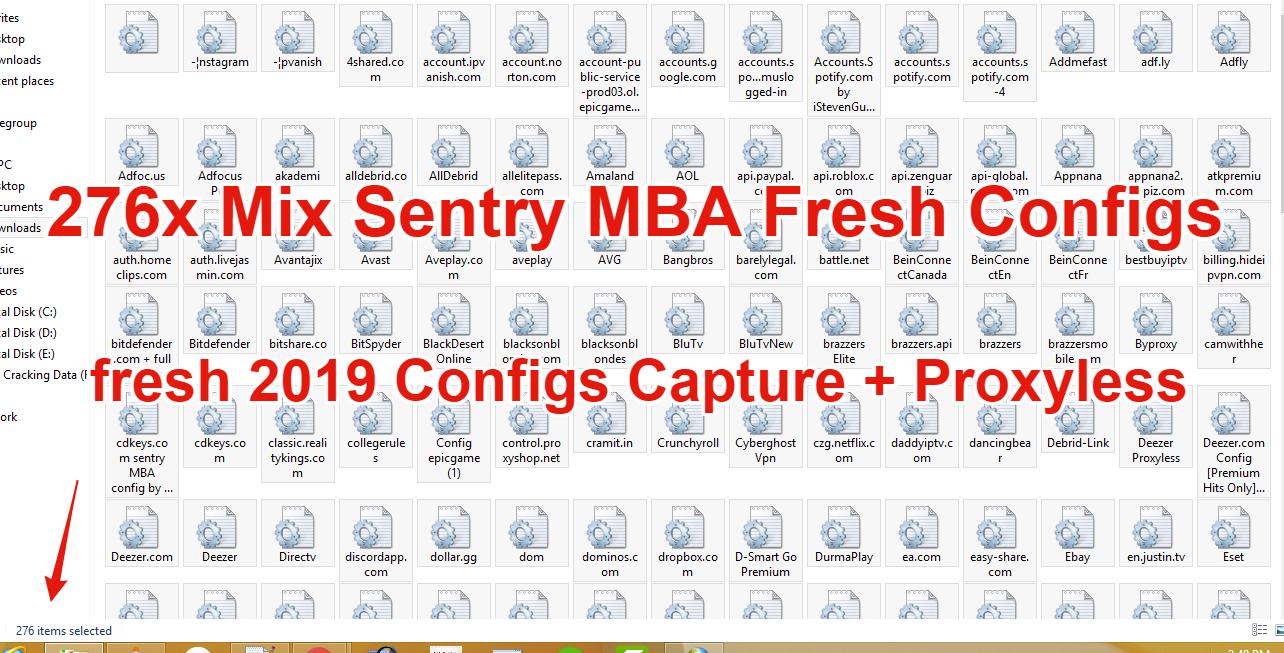 Netflix Config Sentry Mba 2019