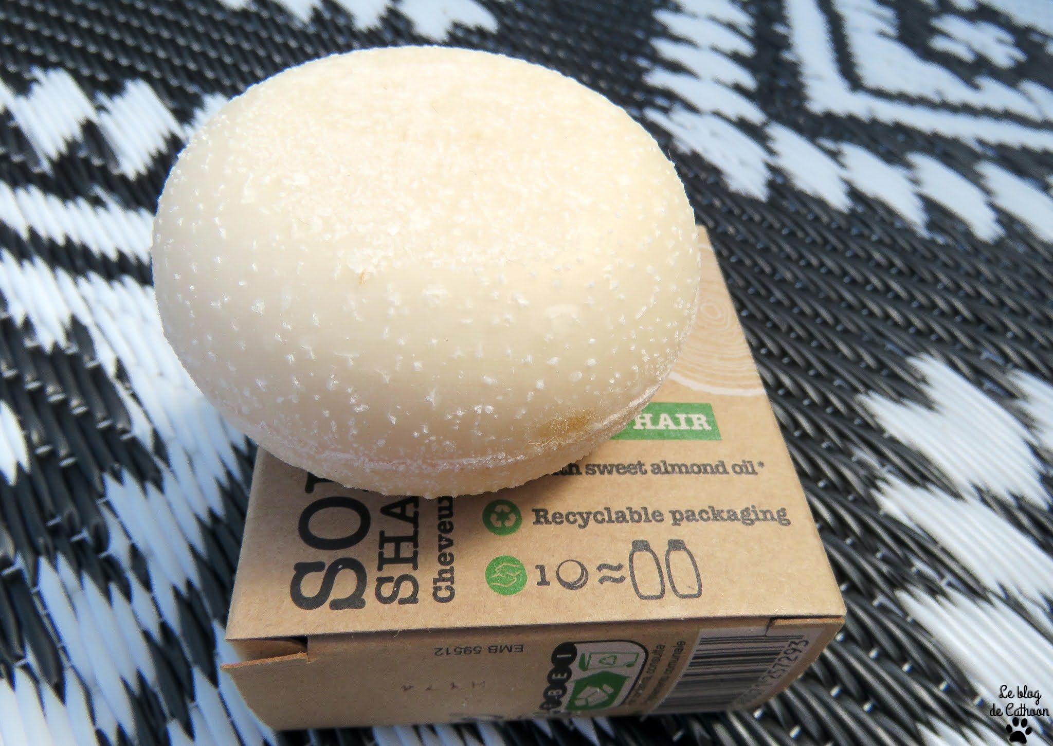 Solid Shampoo - Shampoing Solide Cheveux Normaux - Soft Green (Carrefour)