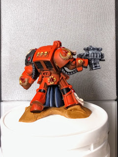Finished with metals back Brother Deino model