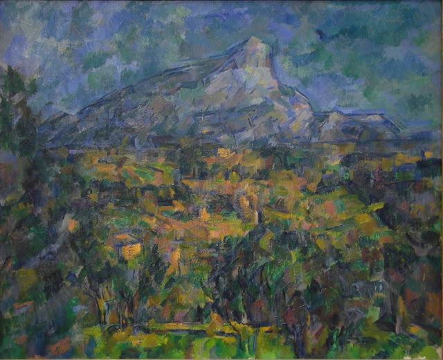 Paul Cezanne, Montagne Sainte-Victoire vue des Lauves