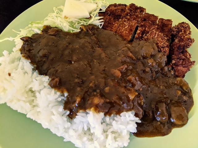 Suika's Katsu Curry enjoyed at home