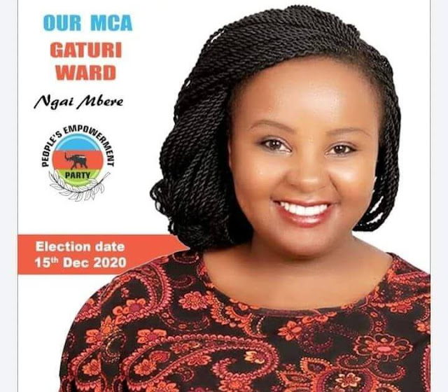 Esther Mwihaki allied to MP Moses Kuria