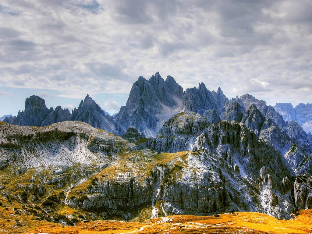 Кадини ди Мизурина, доломитовые альпы, Италия