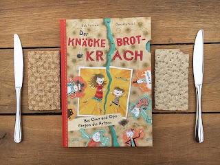 """""""Der Knäckebrotkrach: Bei Oma und Opa fliegen die Fetzen"""" von Bob Konrad, illustriert von Daniela Kohl, Arena Verlag, Rezension auf Kinderbuchblog Familienbücherei"""