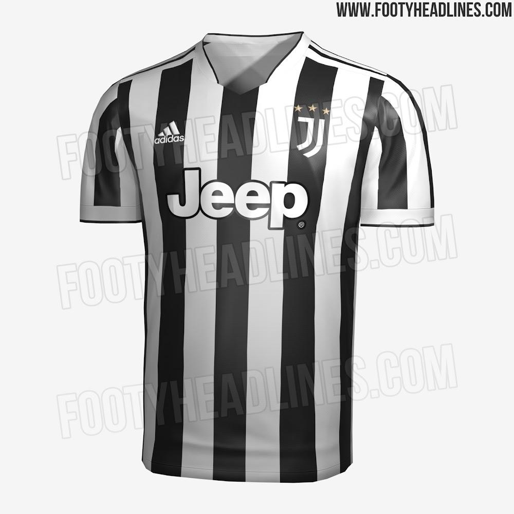 Juventus 21-22 Home, Away & Third Kits Leaked - Footy Headlines