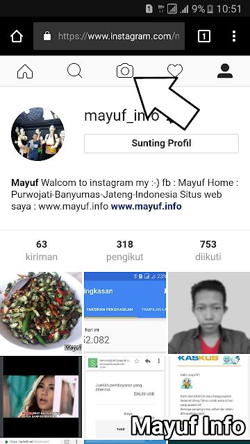 Cara Unggah/Upload Foto Di Instagram Tanpa Crop Tanpa Aplikasi Terbaru