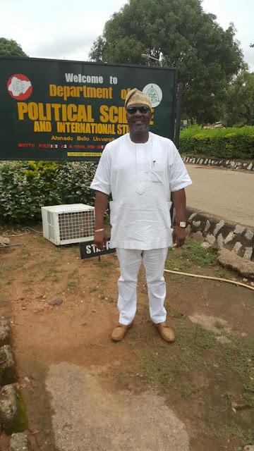 Senator Dino Melaye as He Goes Back to school