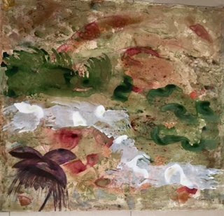 The Melancholy State of Happiness, painting by artist Rekha Rao