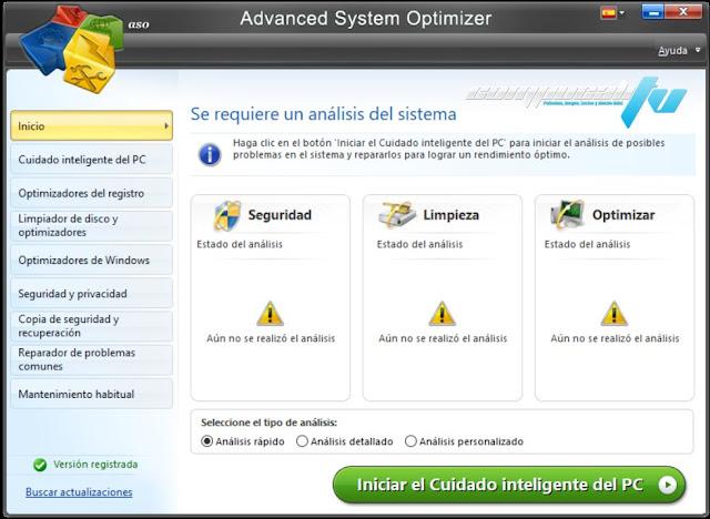 Advanced System Optimizer Versión Full Español