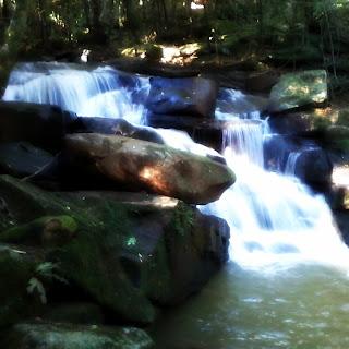 Cachoeira do Jardim Botânico de Lajeado