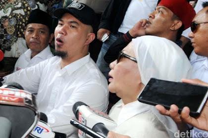 Pro-Prabowo Mau Jamin Ahmad Dhani, TKN: Ratna Sarumpaet Nggak Sekalian?