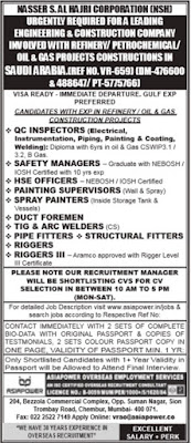 NSH Company Oil & Gas project jobs in Saudi Arabia