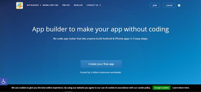 Appypie.com Solusi Tepat Untuk Membuat Apps Tanpa Coding