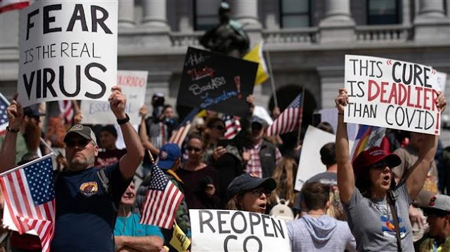 More American protests call for lifting coronavirus restrictions as governors push back