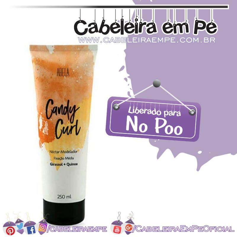 Candy Curl Nectar Modelador - Abela (No Poo)