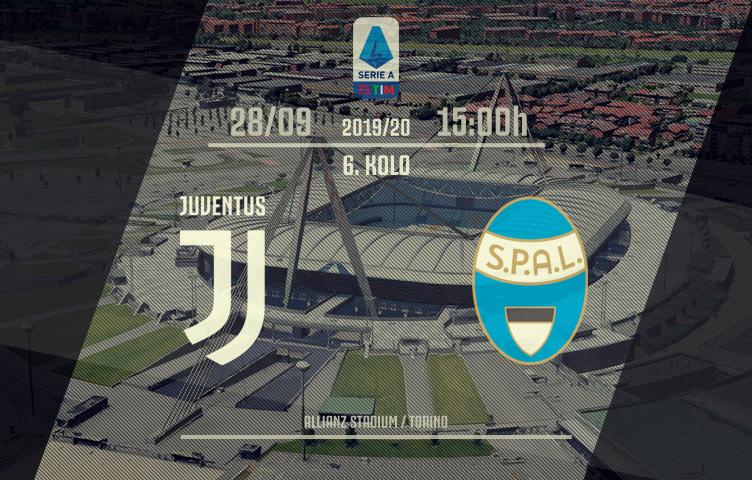 Serie A 2019/20 / 6. kolo / Juventus - SPAL, subota, 15:00h