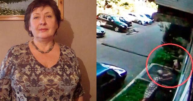 В Новокузнецке пенсионерка поймала выпавшего из окна второго этажа полуторагодовалого ребёнка