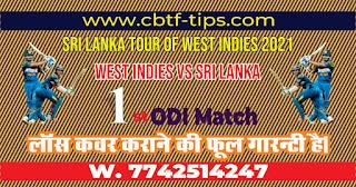 International ODI SL vs WI (Kala) 1st Match Who will win Today? Cricfrog