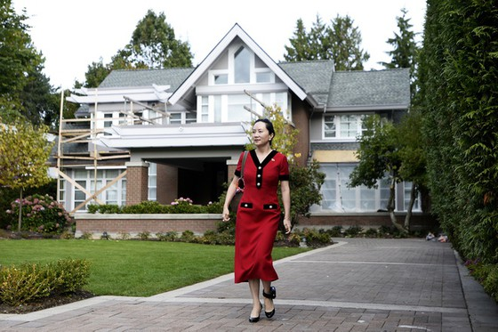 Meng Wanzhou is under house arrest in Vancouver. Photo: Getty Images .