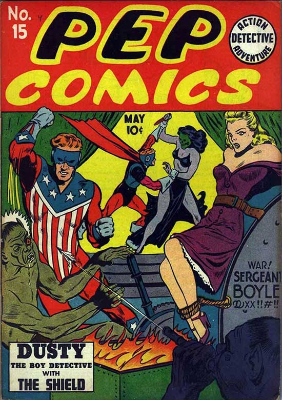 Heroines Pep Comics Quot Madam Satan Who She Is And How She