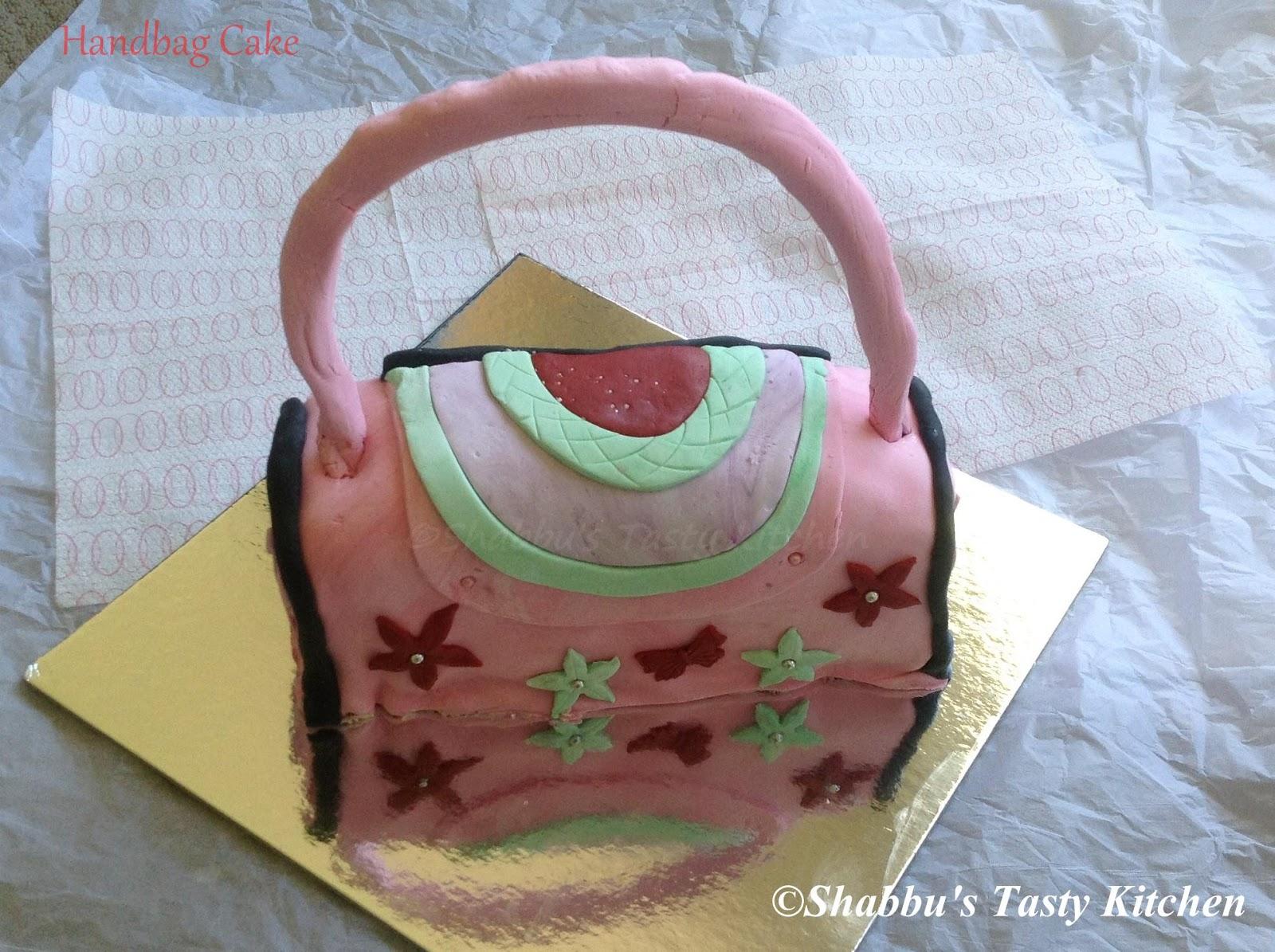 Neapolitan Purse Handbag Cake