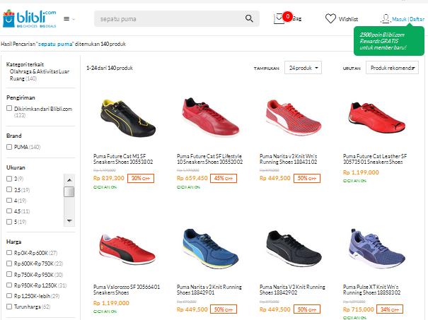 5 Merk Sepatu Sport Terpopuler Indonesia