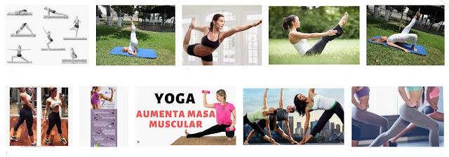 ¿Cómo hacer yoga para ganar masa muscular?