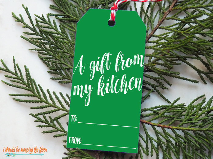 Holiday Food Tags