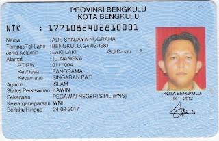 identitas ade sanjaya