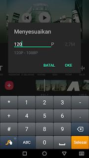 Cara edit menyimpan video menggunakan aplikasi Inshot di Android